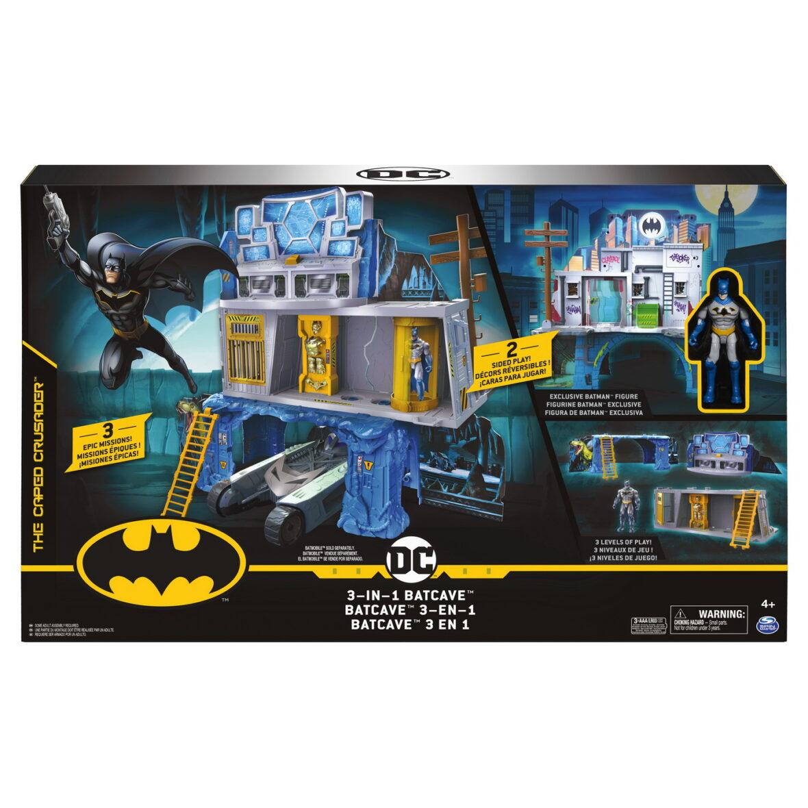 Batman Set De Joaca 3 In 1 Batcave
