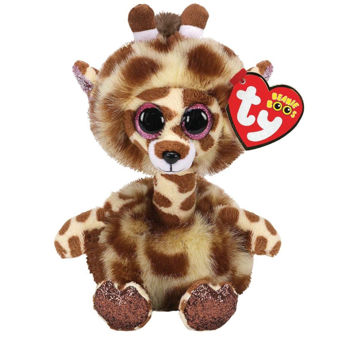 Plus Ty 15cm Girafa Cu Gat Lung