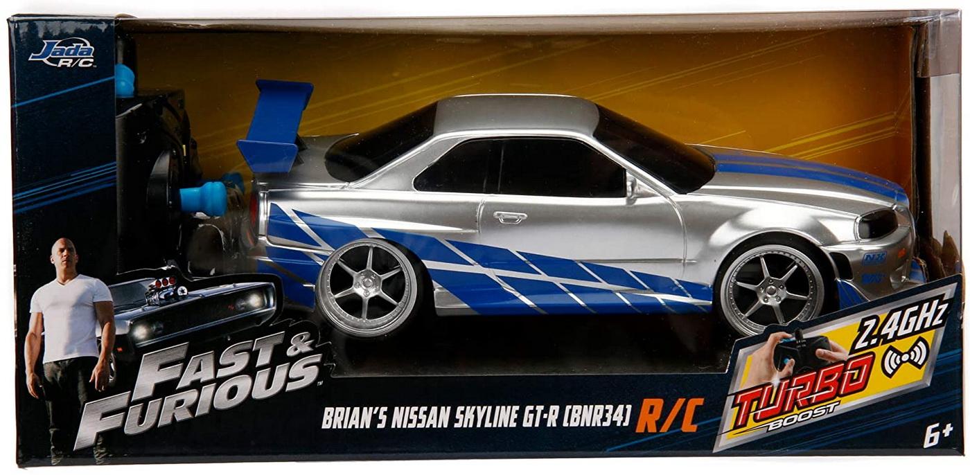 Fast&furious Nissan Skyline Gtr 1:24