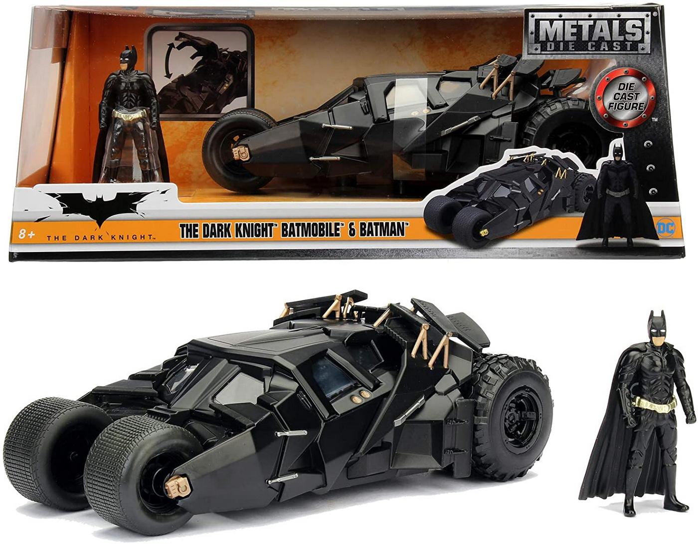 Batman Automobil Batmobile The Dark Knight 1:24