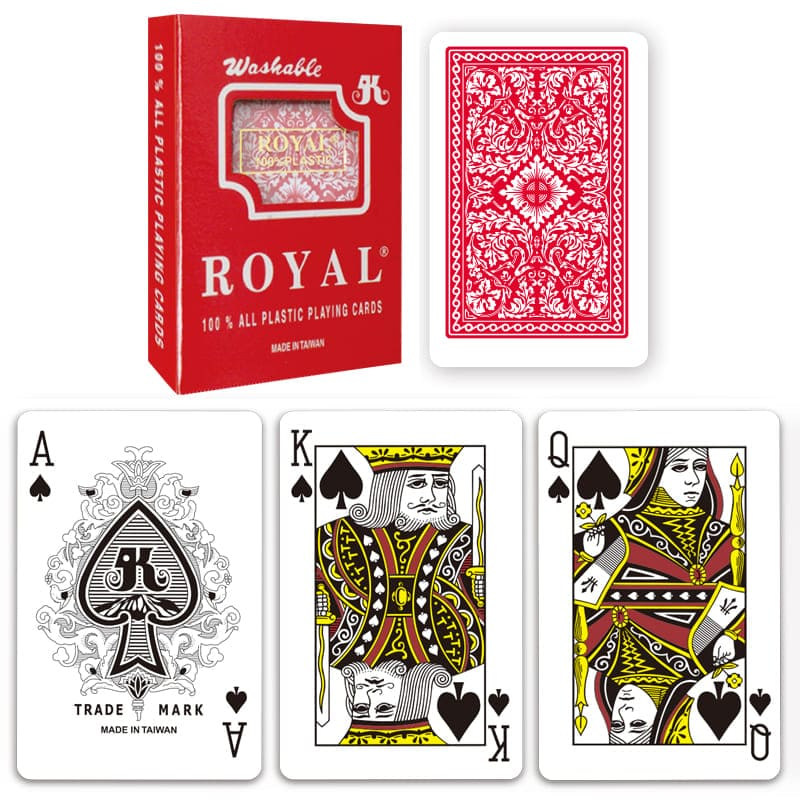 Carti De Joc Royal Din Plastic