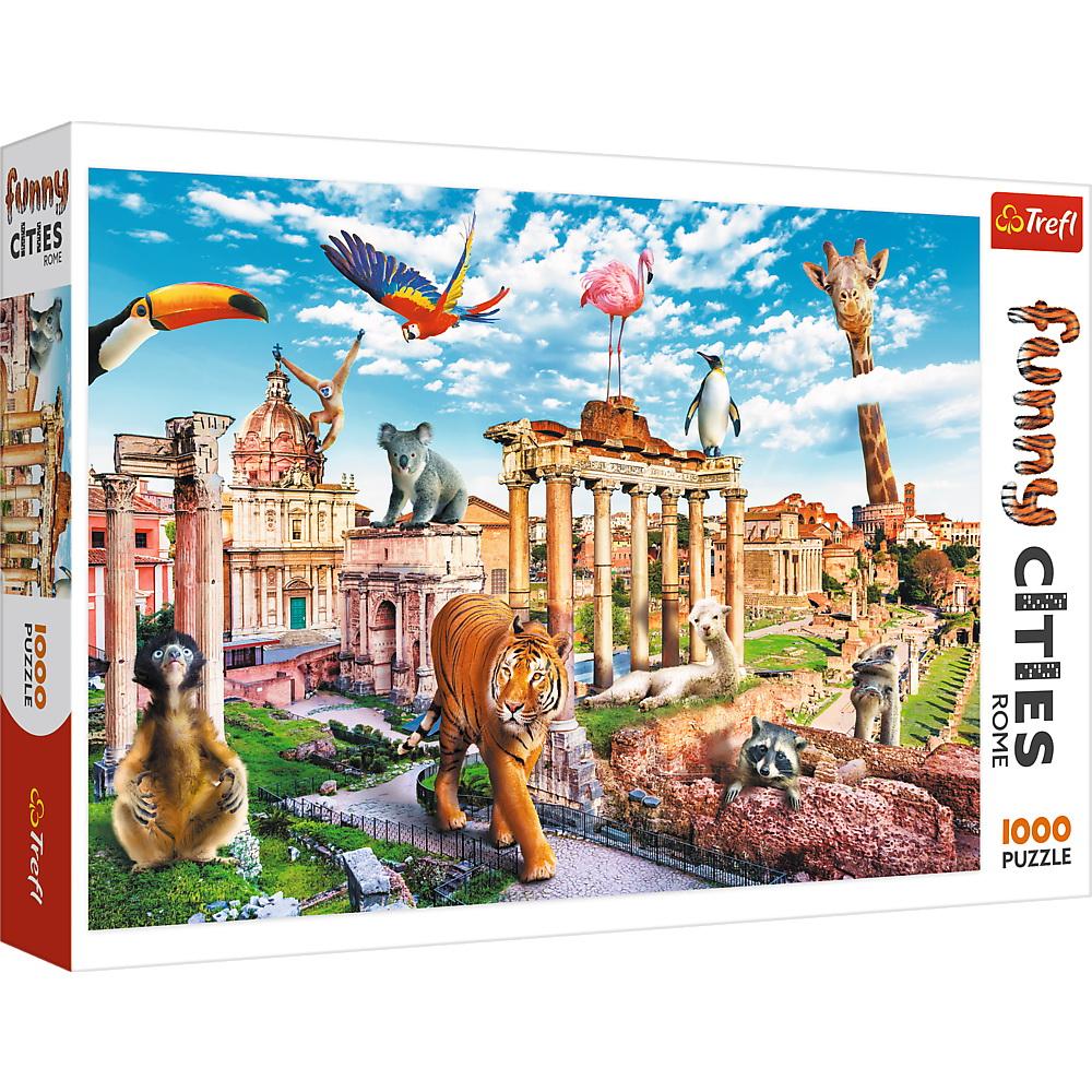 Puzzle 1000 Orase Amuzante Roma Salbatica