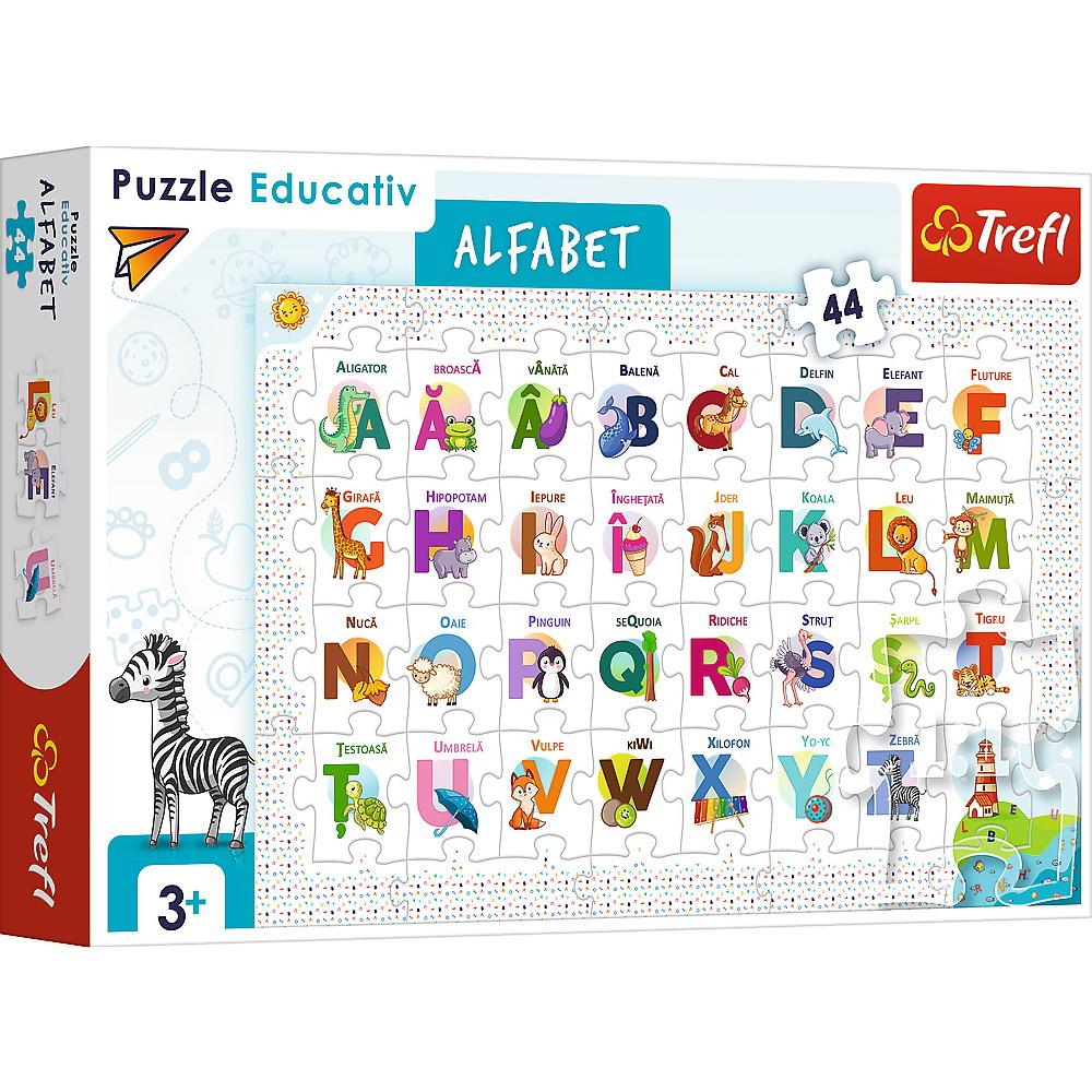 Puzzle 44 Educational Alfabetul
