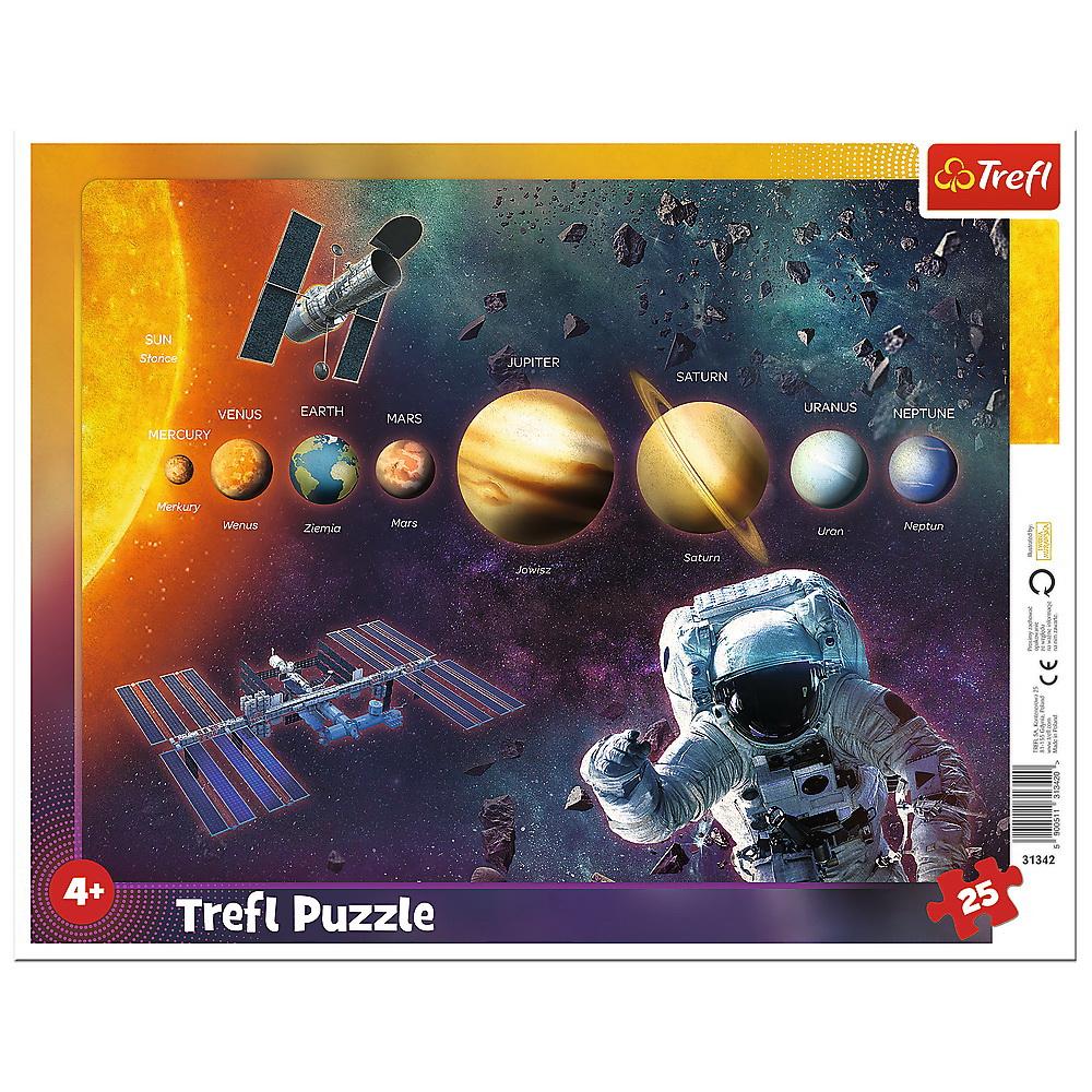 Puzzle 25 Plansa Sistemul Solar