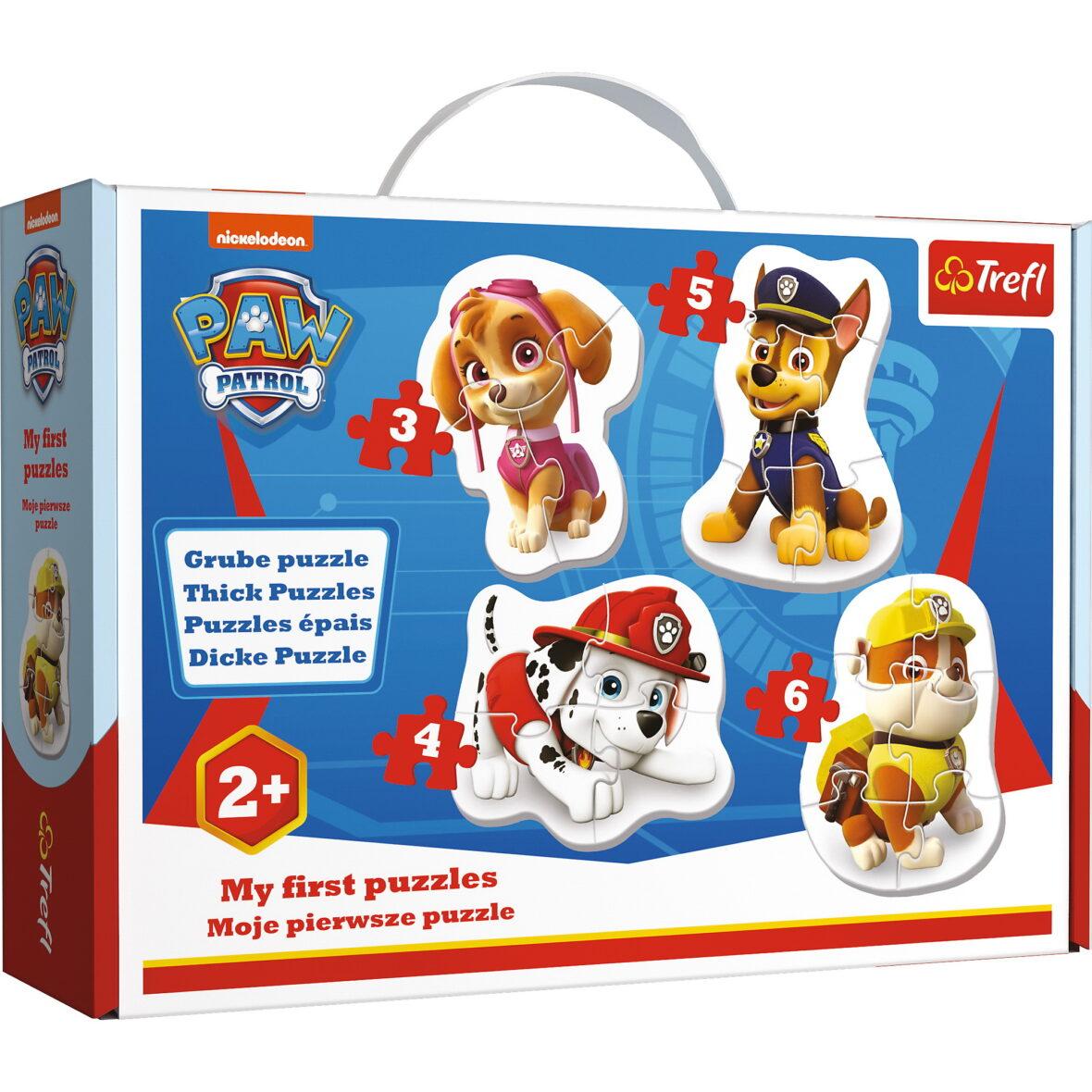 Puzzle Baby Clasic Skye Marshall Chase Si Rubble 18 Piese