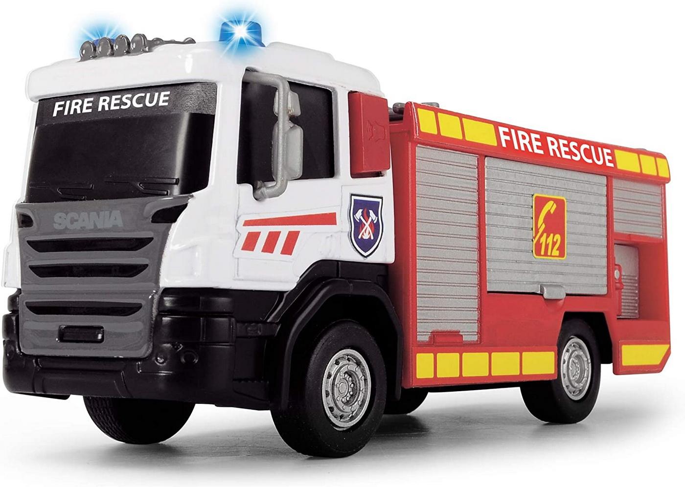 Scania Masina De Pompieri Cu Scara