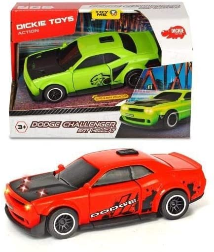 Dodge Chalenger Srt Hellcat Cu Sunete Si Lumini – Rosu