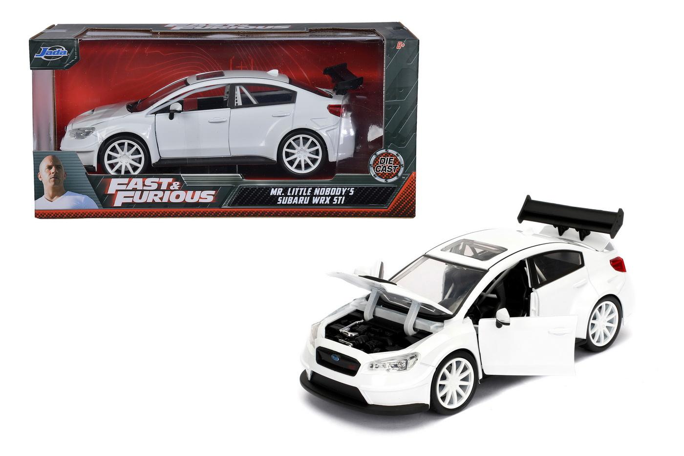 Masinuta Metalica Fast And Furious Ff8 Mrs. Little Nobody's Subaru Wrx Scara 1:24