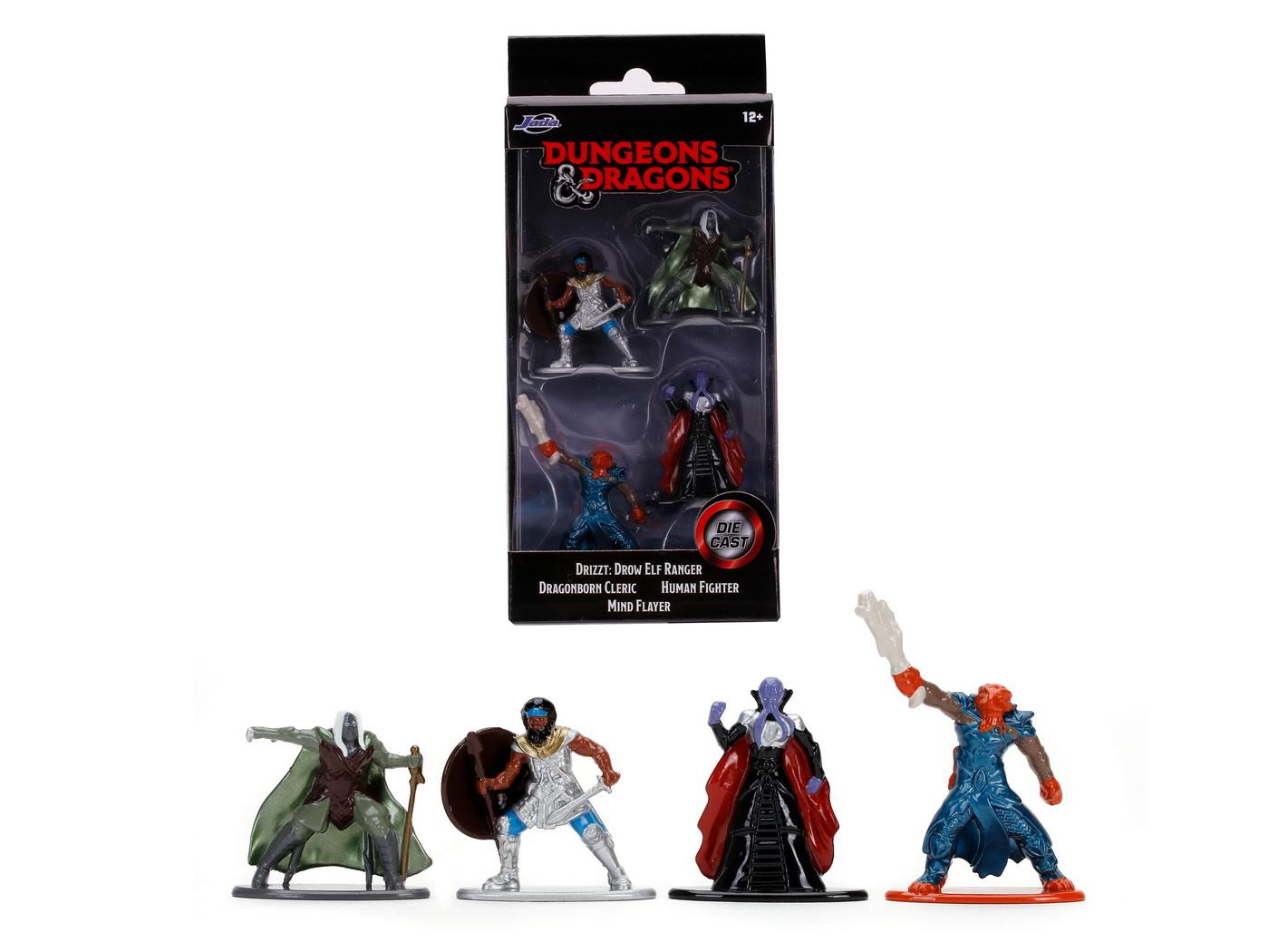 Set 4 Figurine Dungeons Dragons 4 Cm