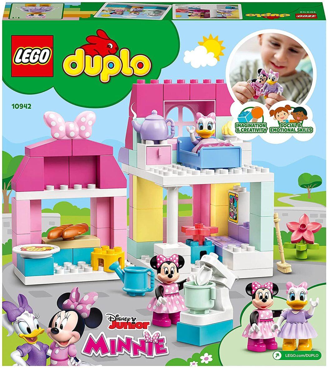 Lego Duplo  Casa Si Cafeneaua Lui Minnie 10942