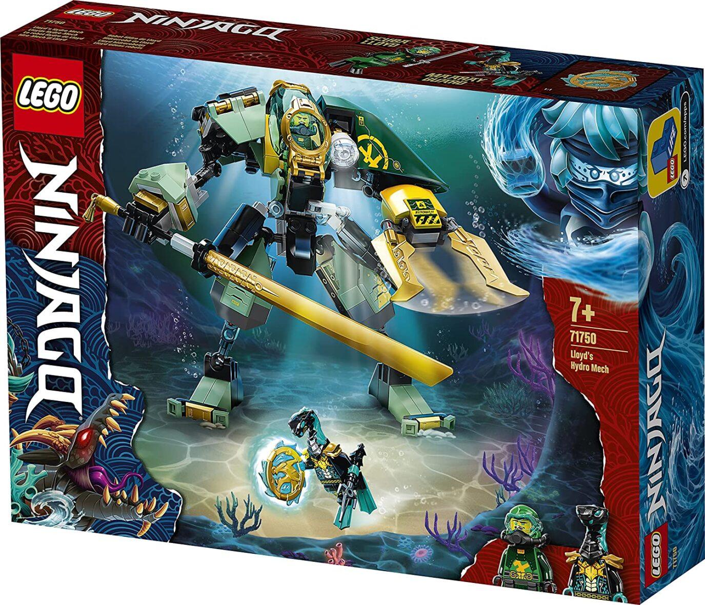 Lego Ninjago Robotul Hidro Al Lui Lloyd 71750