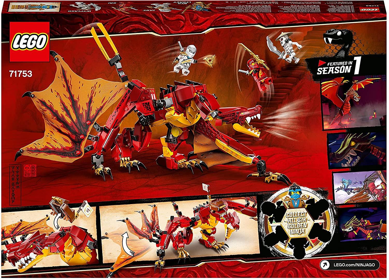 Lego Ninjago Legacy Atacul Dragonului De Foc 71753