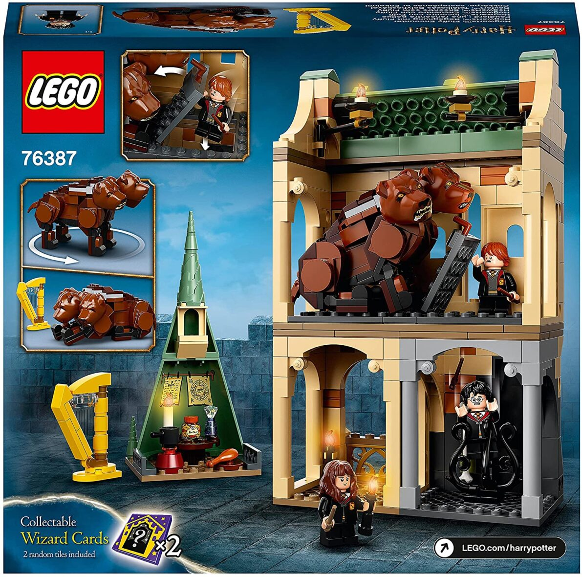 Lego Harry Potter Hogwarts: Intalnirea Cu Fluffy 76387