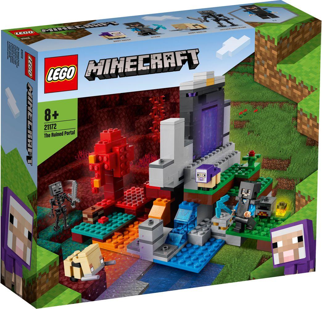 Lego Minecraft Portalul Ruinat 21172