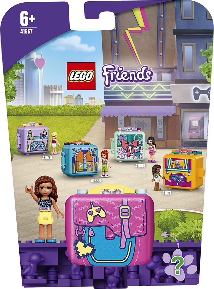 Lego Friends Cubul De Jocuri Al Oliviei 41667