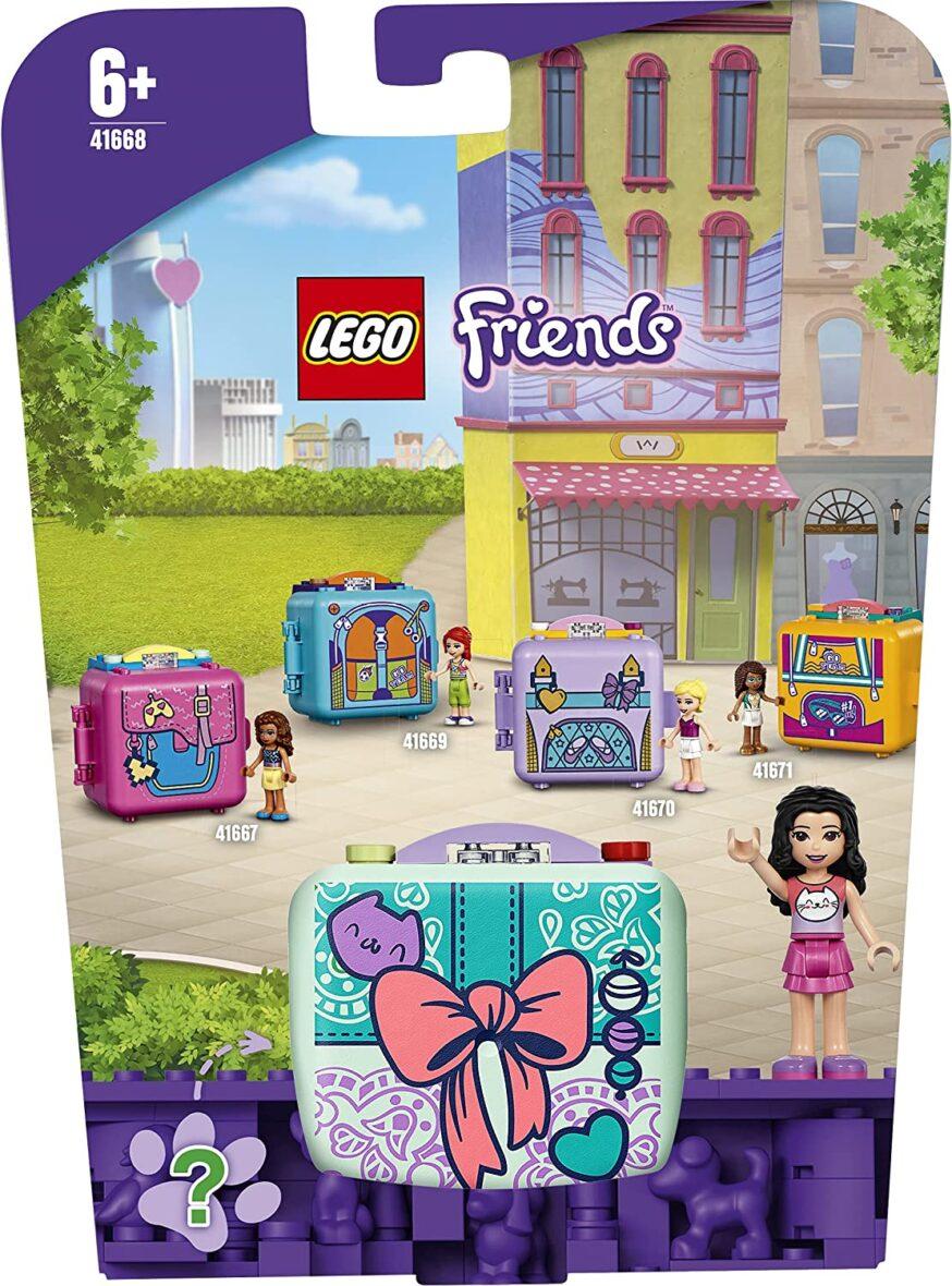 Lego Friends Cubul De Moda Al Emmei 41668