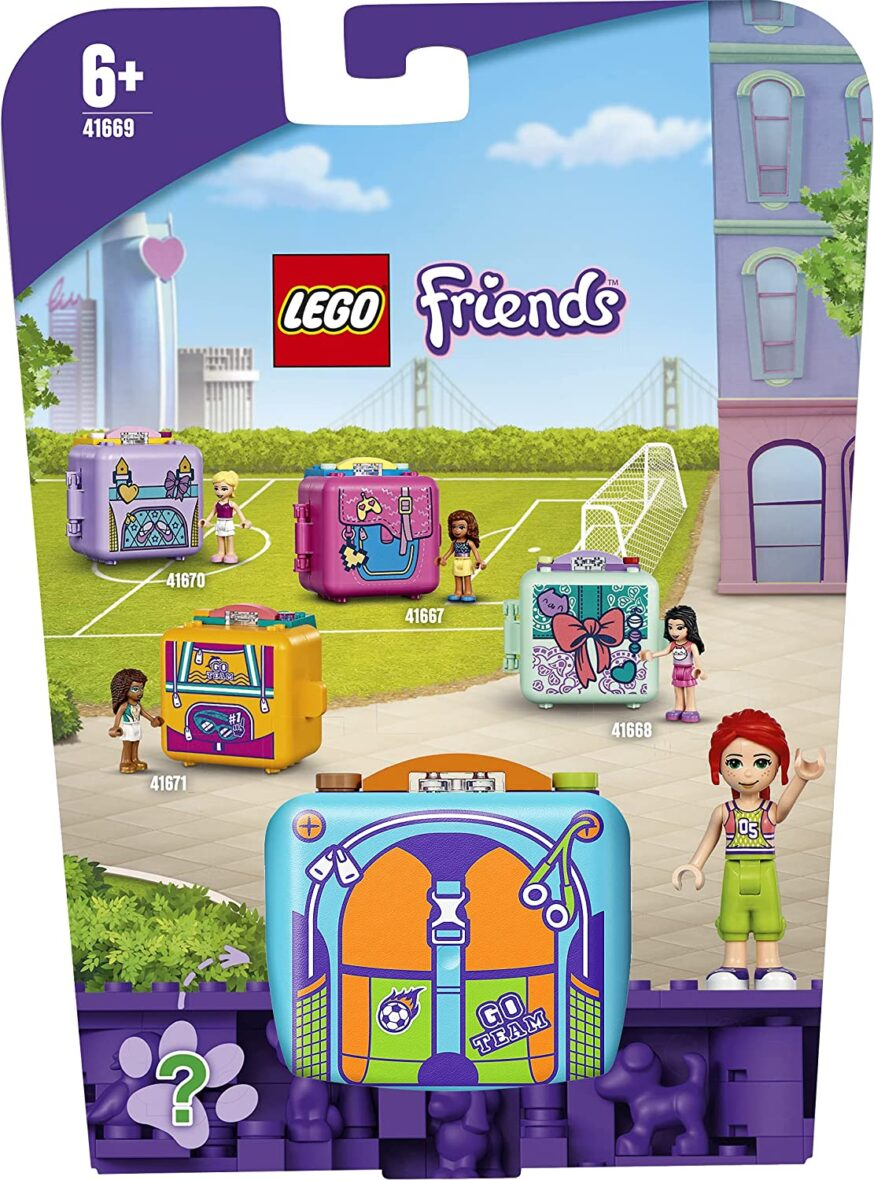 Lego Friends Cubul De Fotbal Al Miei 41669