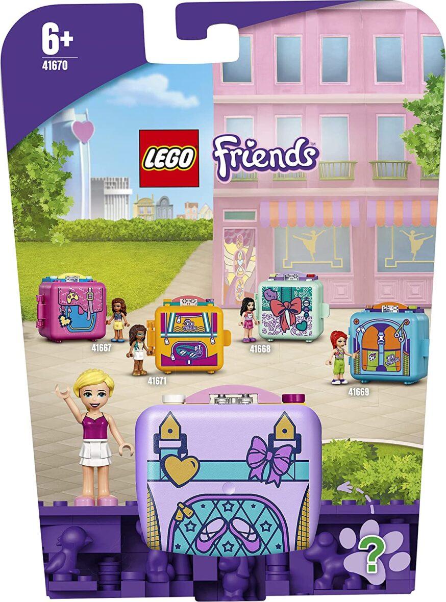 Lego Friends Cubul De Balet Al Lui Stephanie 41670