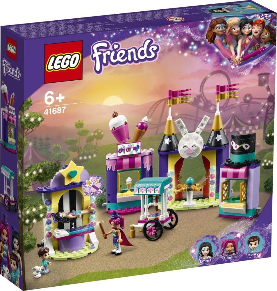 Lego Friends Chioscuri Magice In Parcul De Distractii 41687