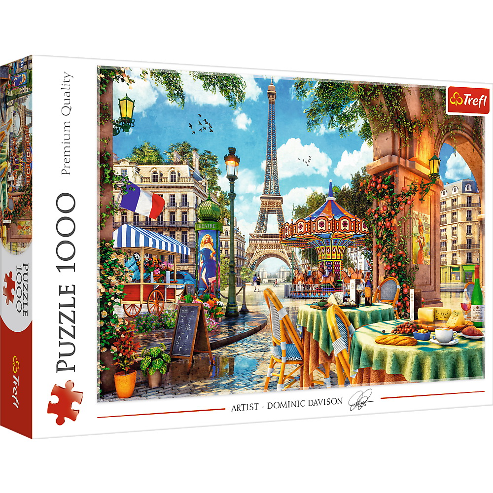 Puzzle Trefl 1000 Dimineata Pariziana