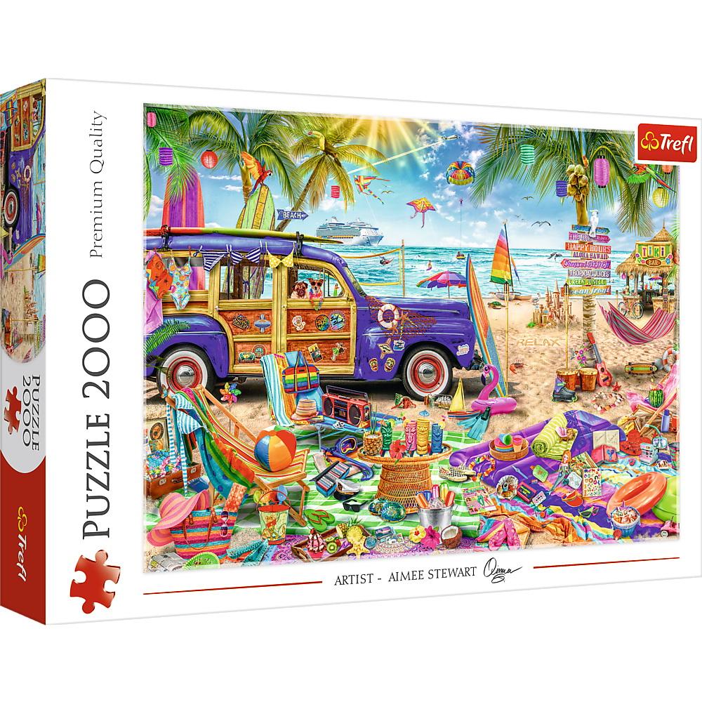 Puzzle Trefl 2000 Vacanta Tropicala