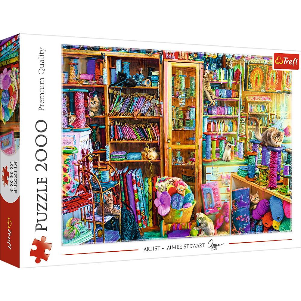 Puzzle Trefl 2000 Paradisul Pisicutelor