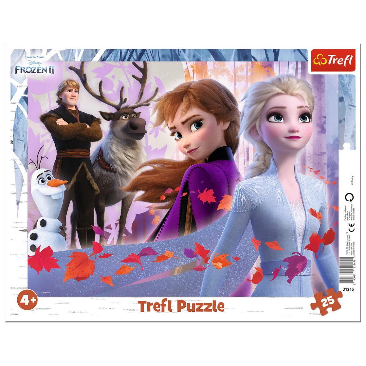 Puzzle 25 Plansa Aventurile Din Frozen