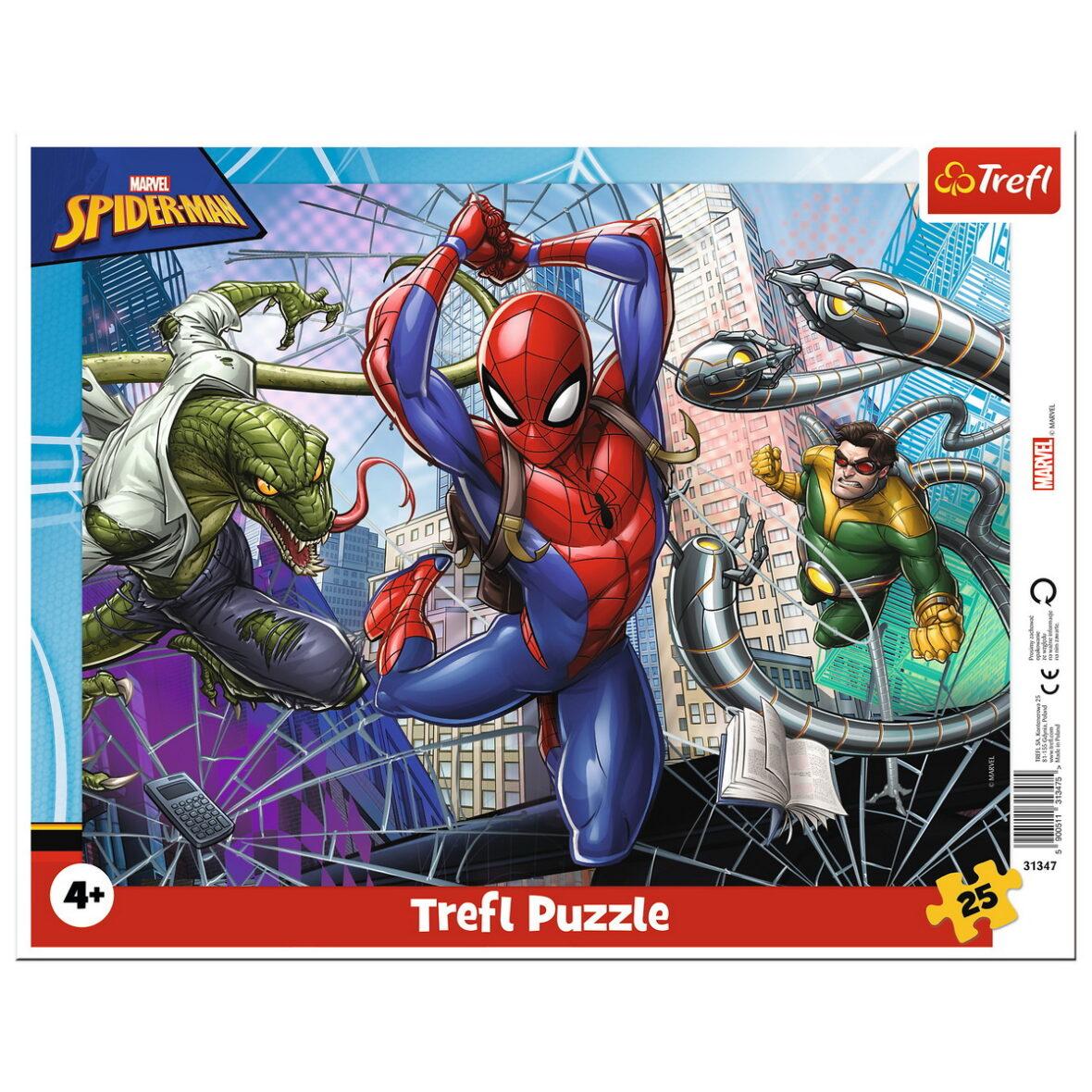 Puzzle 25 Plansa Curajosul Spiderman