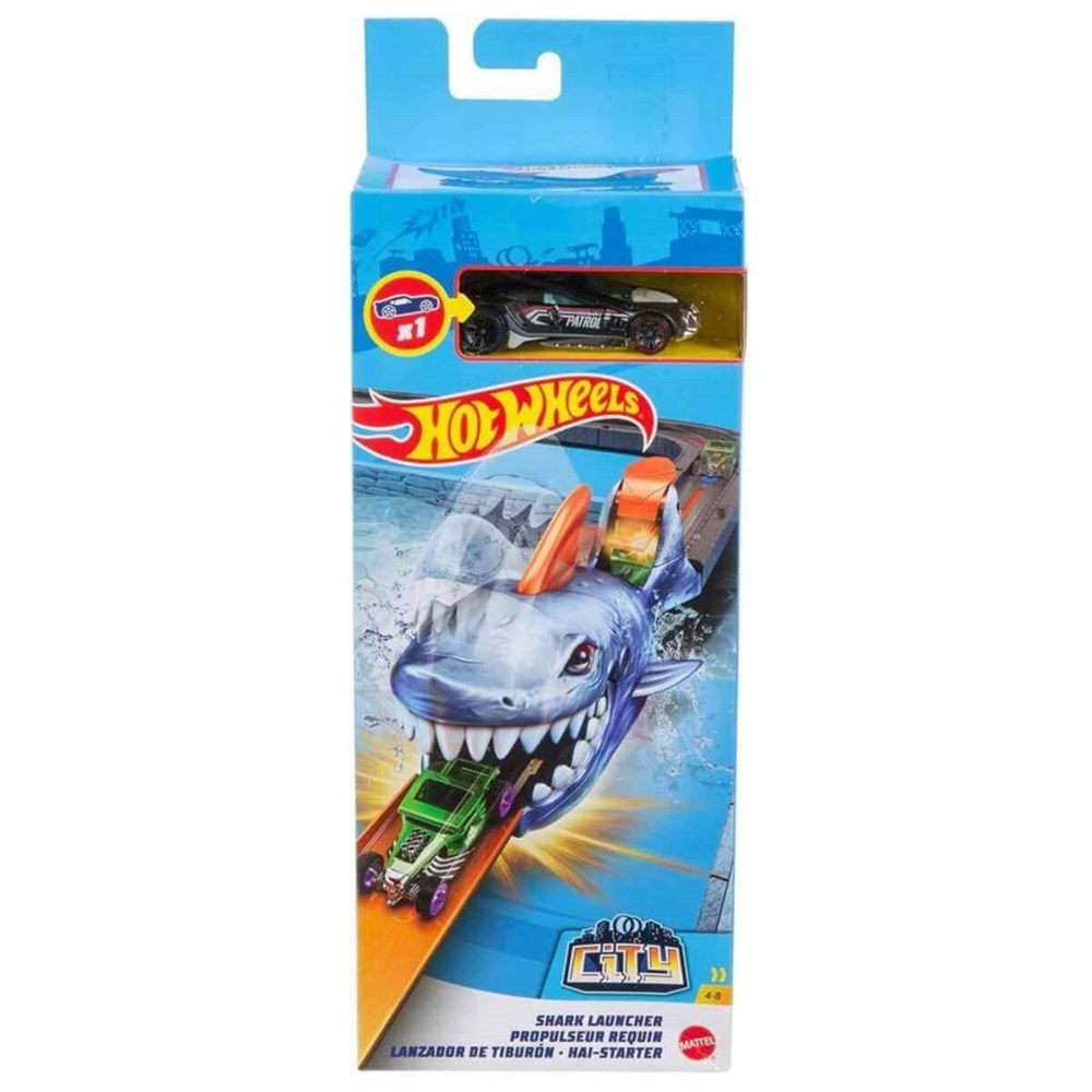 Hot Wheels Gama City Shark Lansator