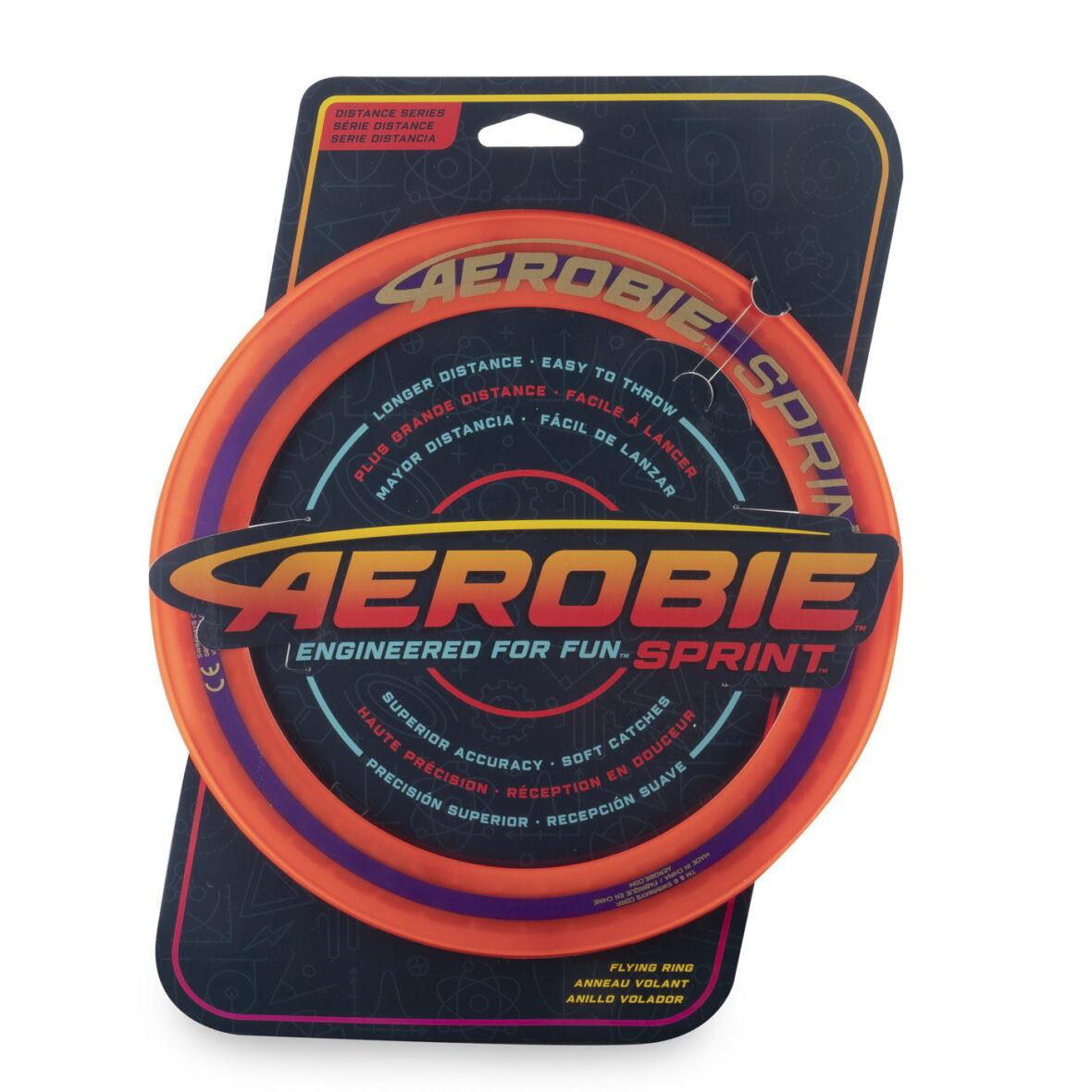 Swimways  Aerobie Disc Zburator Portocaliu Construit Pentru Viteza