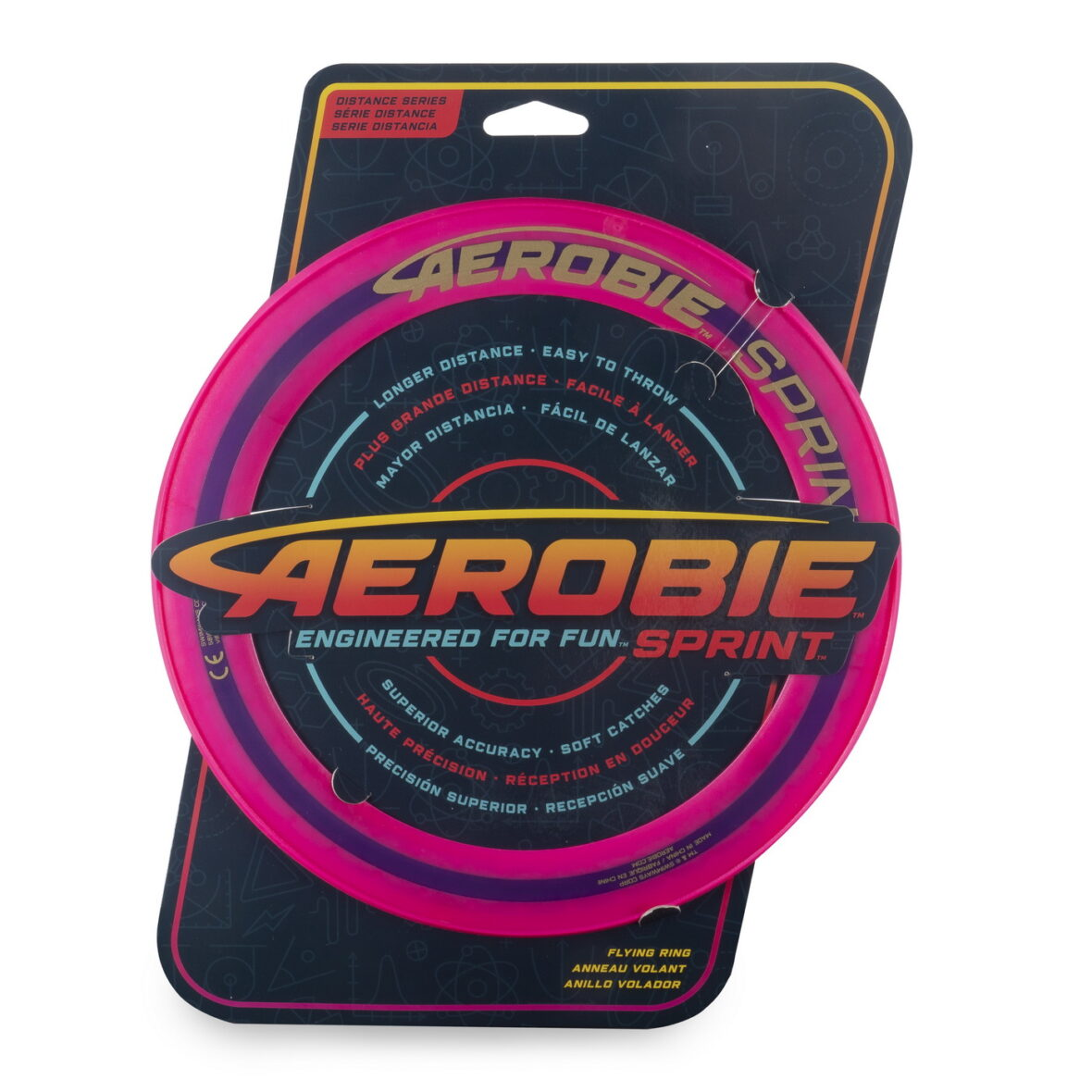 Swimways  Aerobie Disc Zburator Roz Construit Pentru Viteza