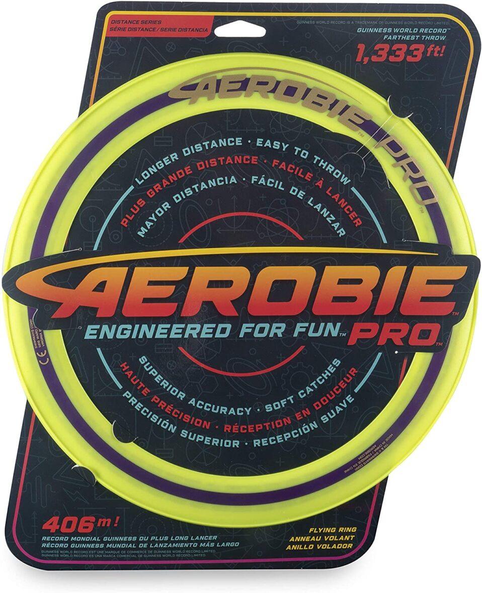 Swimways  Aerobie Pro Disc Zburator Galben Record Mondial 406 Metri