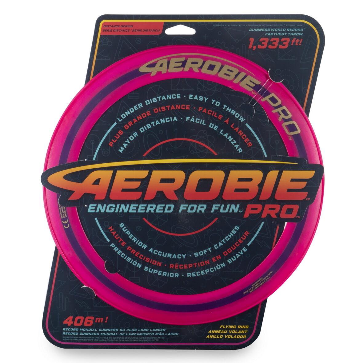 Swimways  Aerobie Pro Disc Zburator Roz Record Mondial 406 Metri