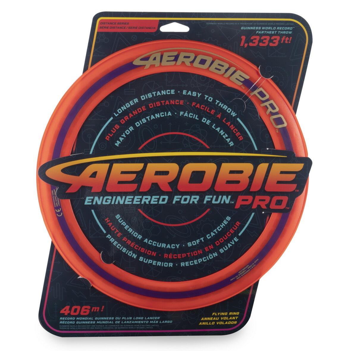 Swimways  Aerobie Pro Disc Zburator Portocaliu Record Mondial 406 Metri