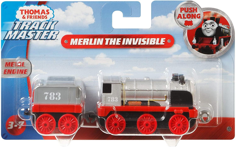Thomas Locomotiva Cu Vagon Push Along Merlin