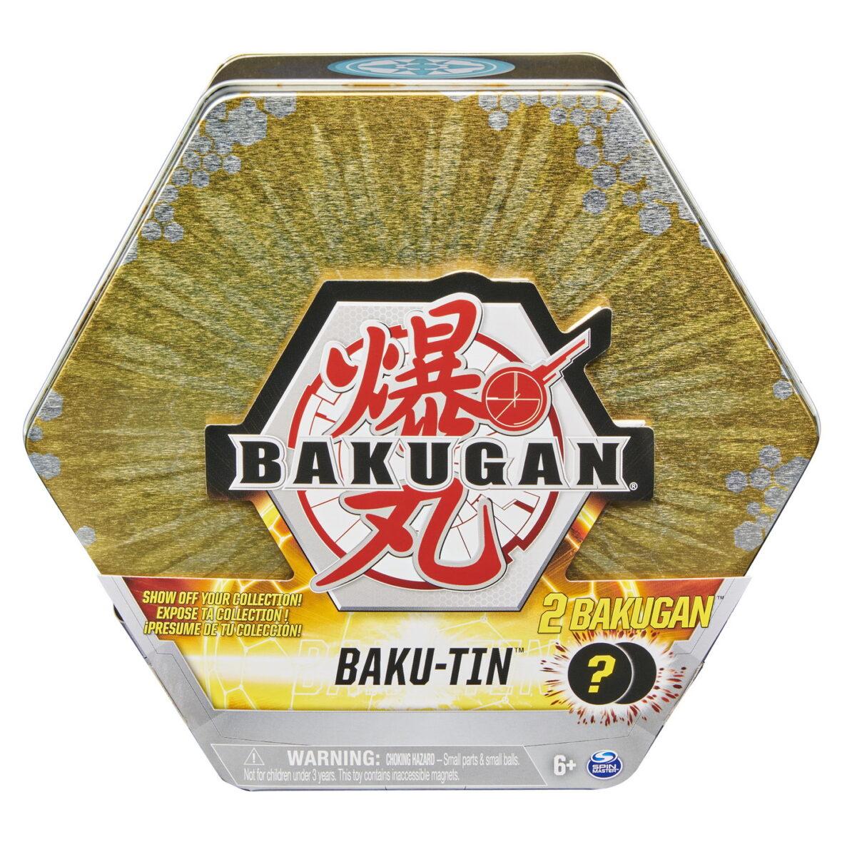 Bakugan S3 Set De Joaca Bakutin Auriu Turtonium Si Si Vicerox