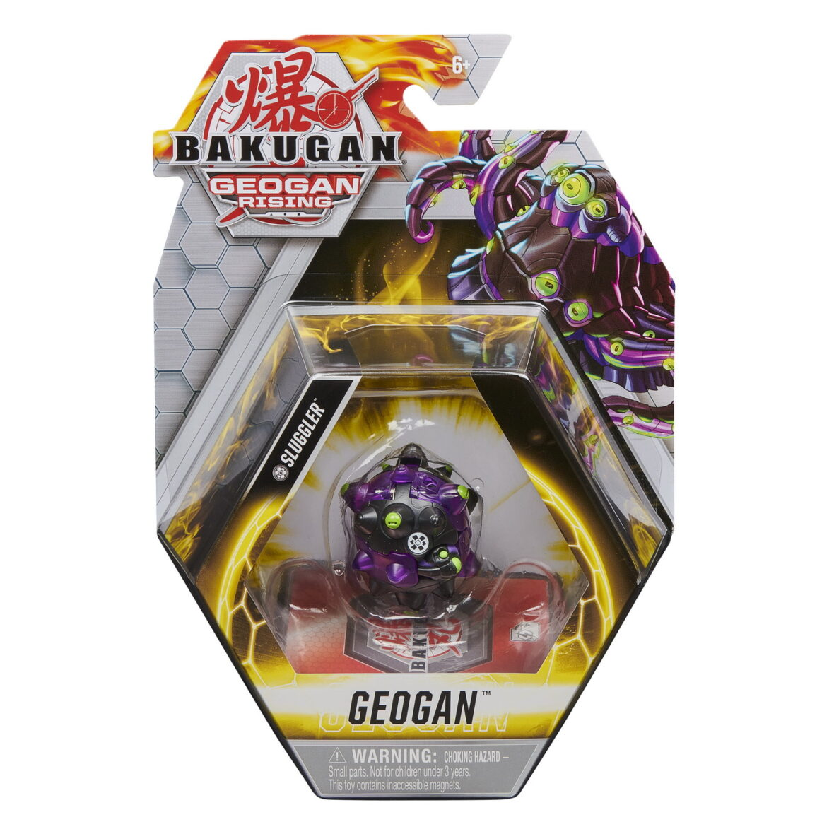 Bakugan S3 Geogan Sluggler Black