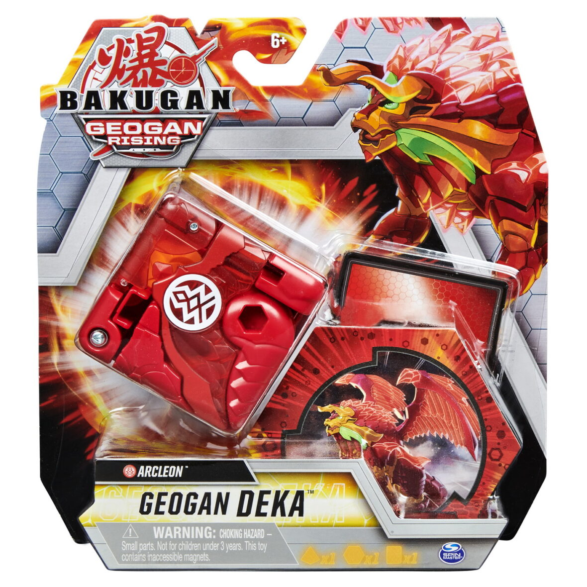 Bakugan S3 Geogan Deka Arcleon
