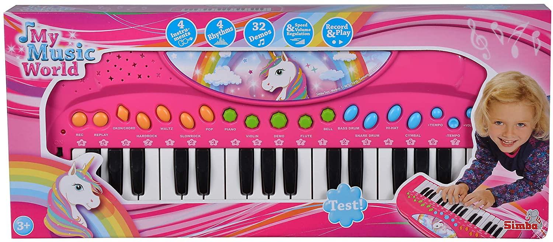 Orga Unicorn My Music World 42cm Roz