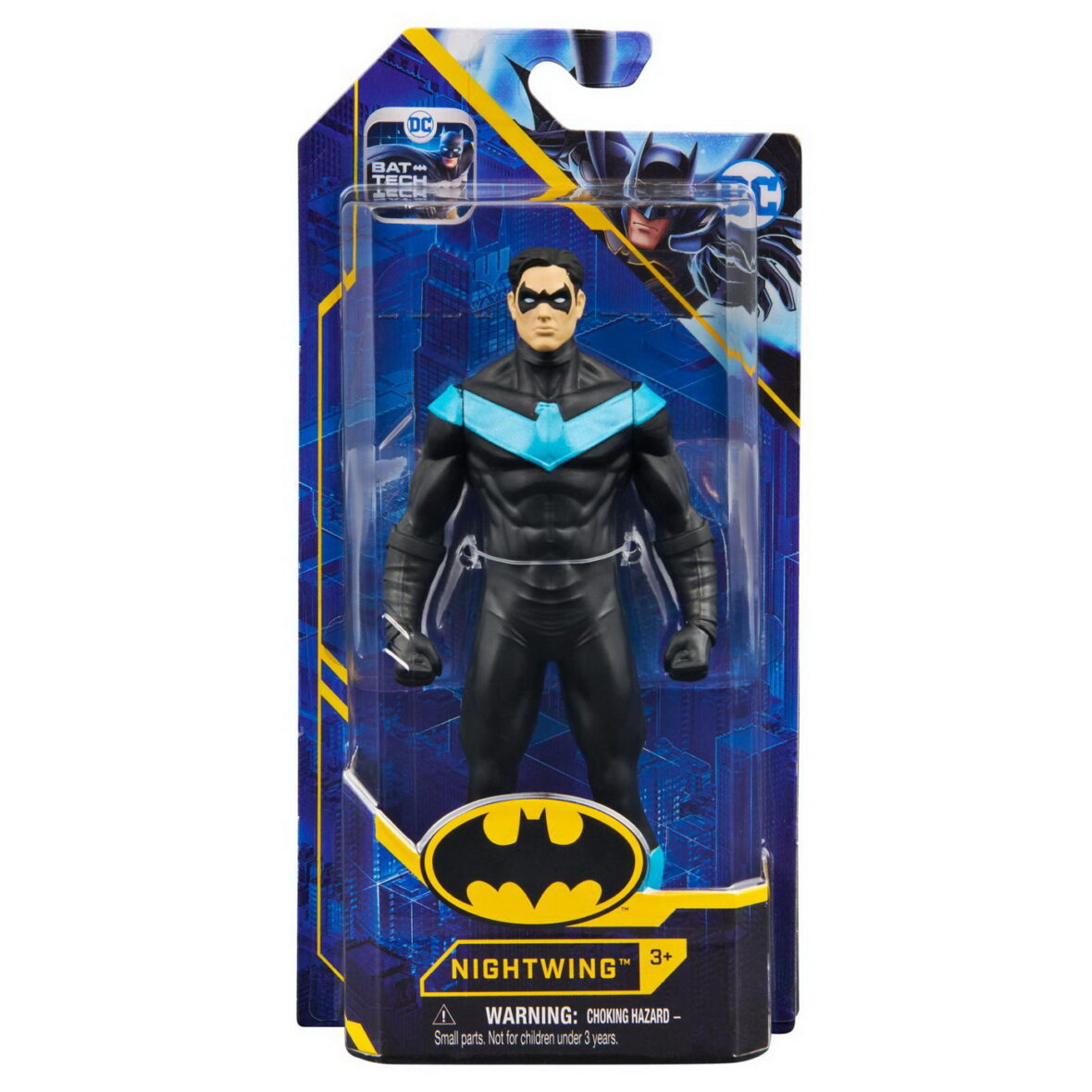 Figurina Nightwing 15cm Cu Costum Metal Tech