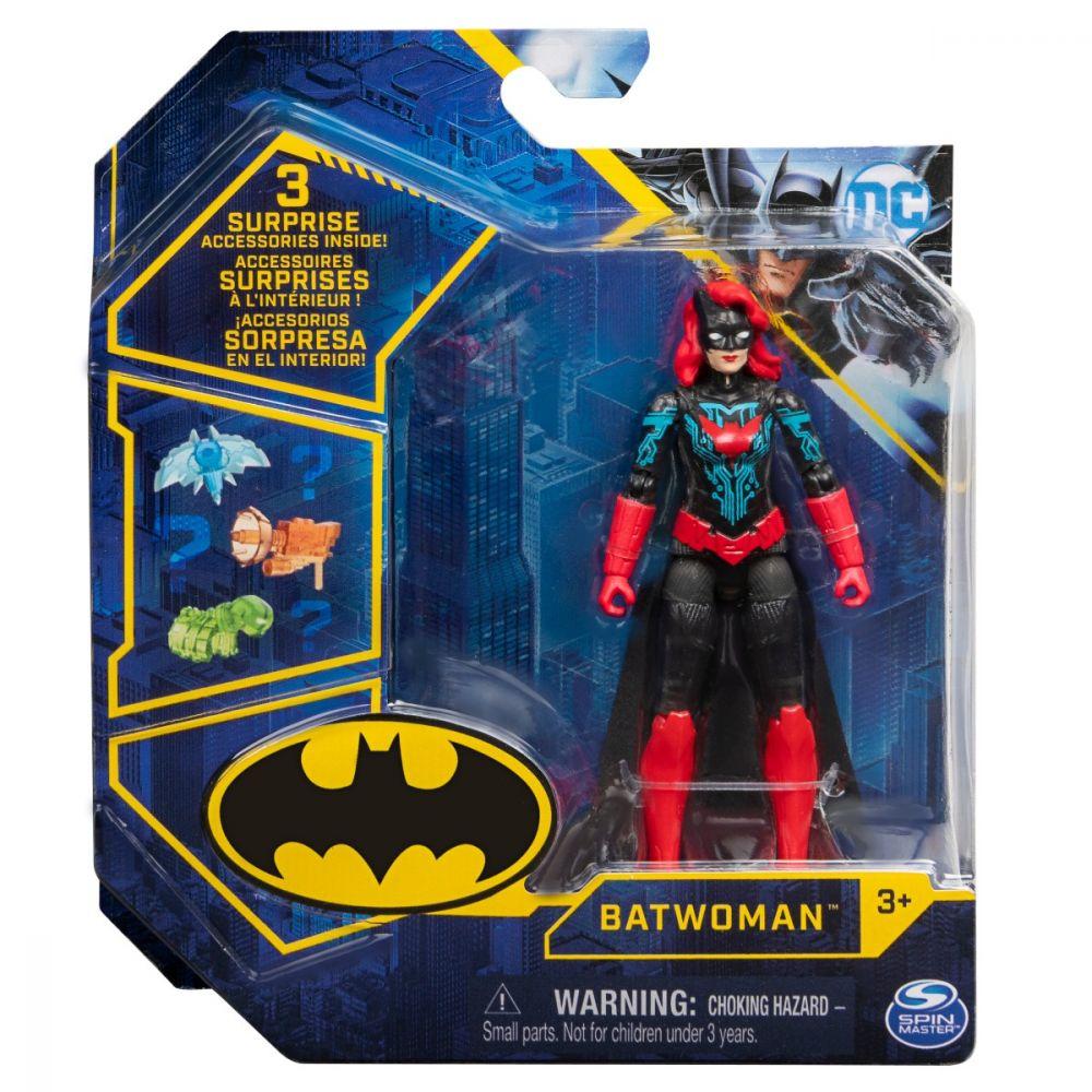 Figurina Batwoman 15cm Articulata Si Cu 3 Accesorii Surpriza