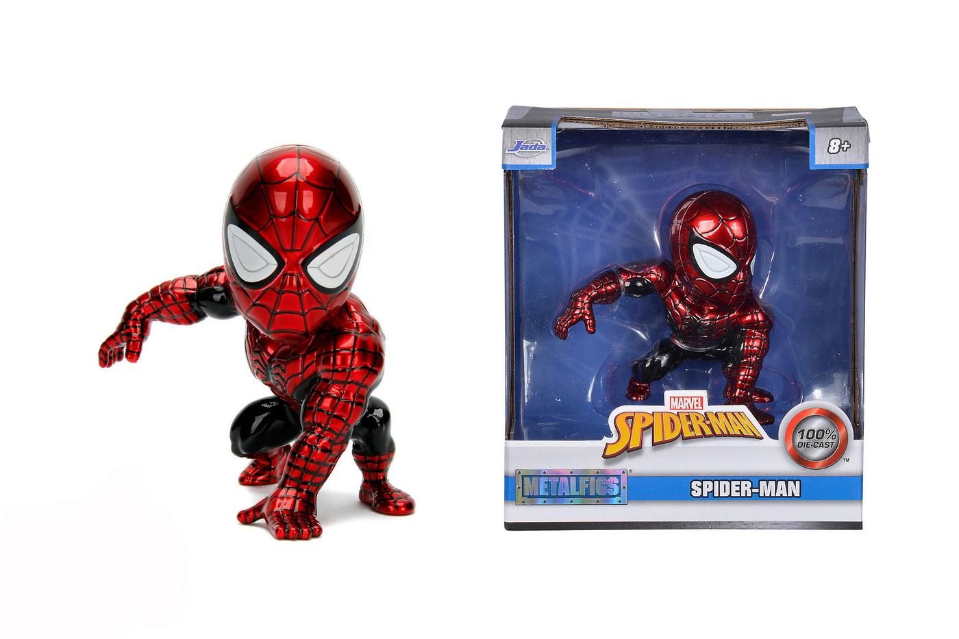 Marvel Figurina Metalica Spider Man 10cm