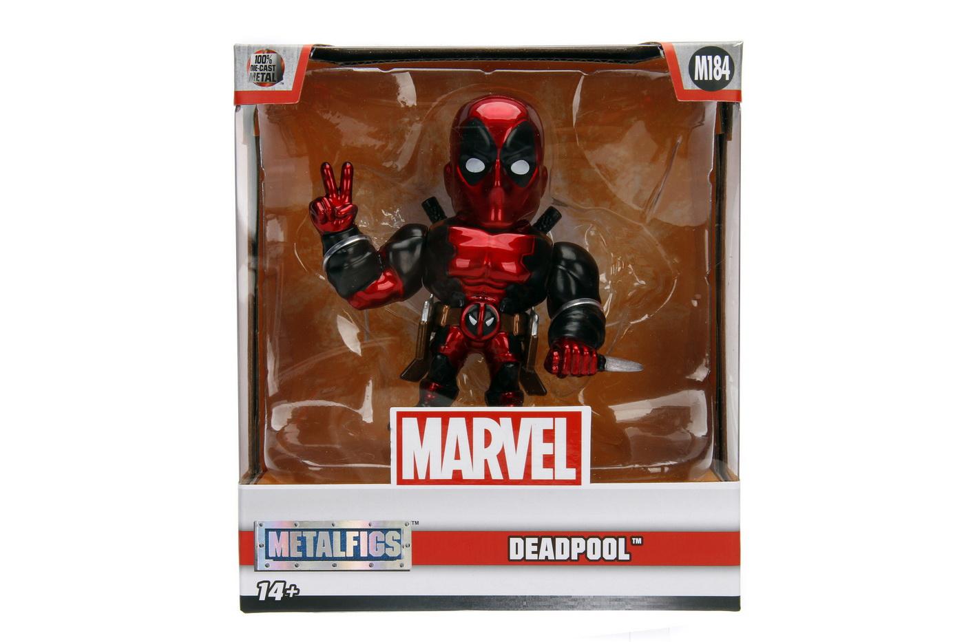 Marvel Figurina Metalica Deadpool 10 Cm