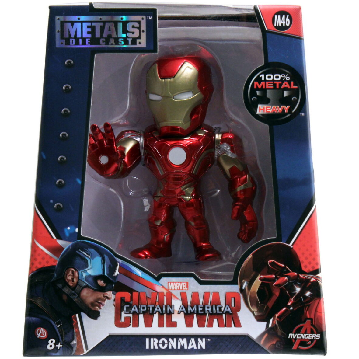 Marvel Figurina Metalica Iron Man 10cm