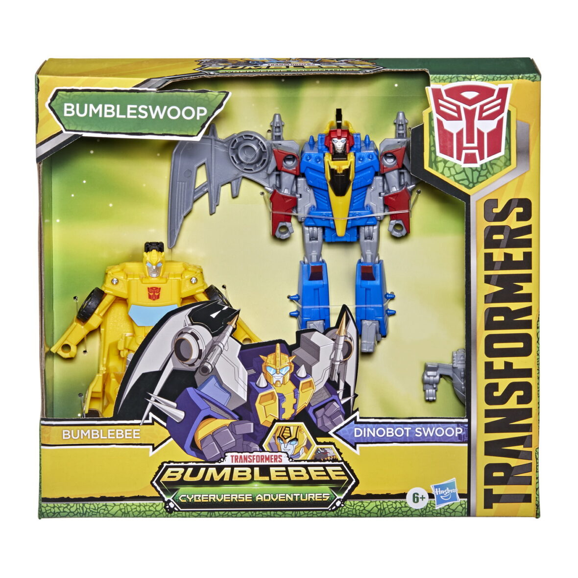 Transformers Cyberverse Figurine Bumblebee Si Dinobot Swoop 14cm